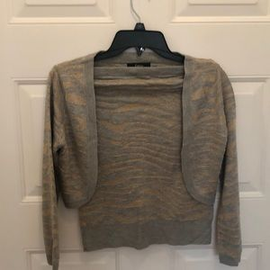 NWT Express Tub top with shrug